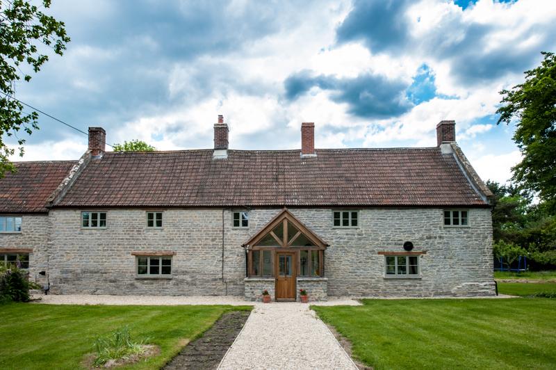 We make bespoke windows for period properties in Somerset