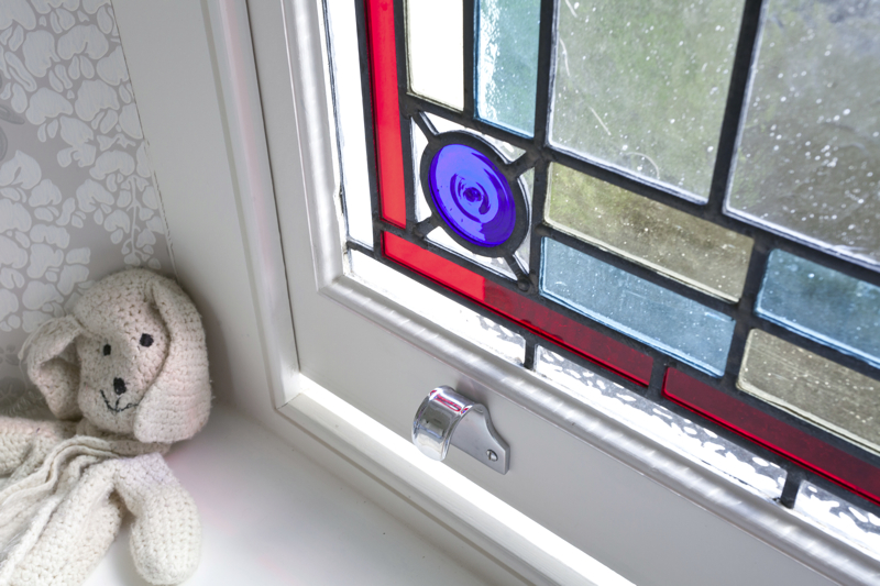 bespoke timber framed stained glass windows available in your own design in the South West
