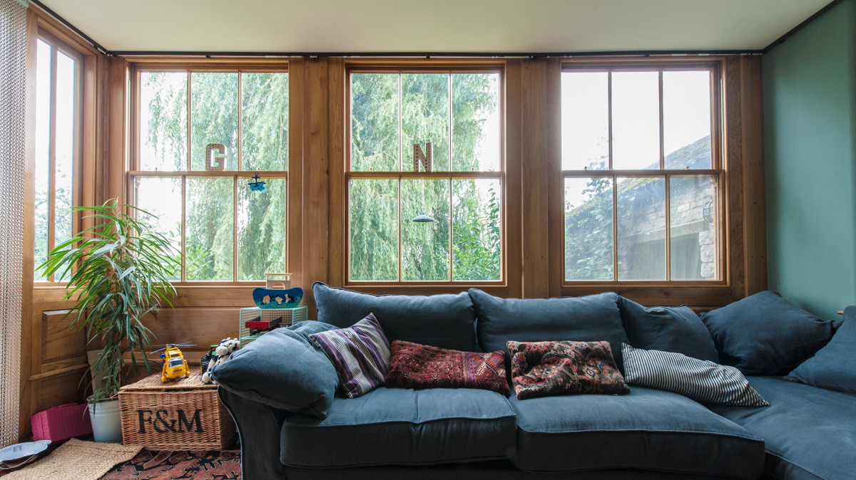 Bespoke timber framed windows manufactured in Somerset