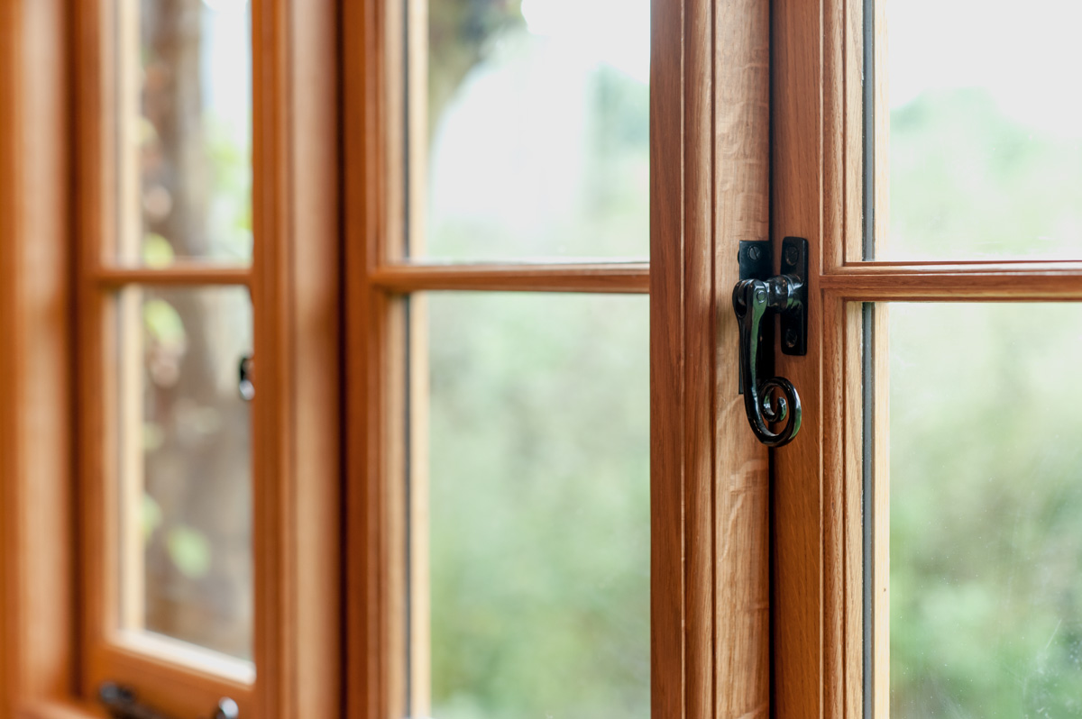 Bespoke timber framed windows designed in the South West of England